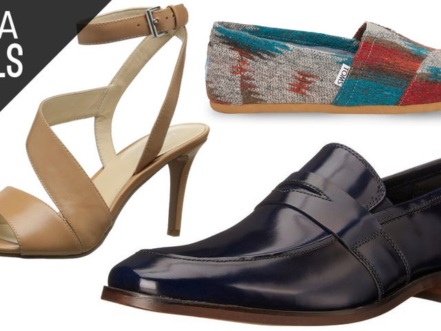 Treat Yourself to a New Pair of Shoes with Several Great Deals