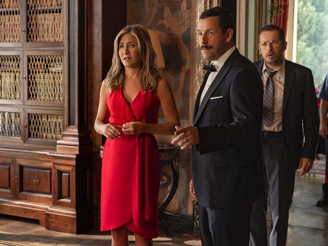 There's Murder but no Mystery in Adam Sandler's Netflix whodunit