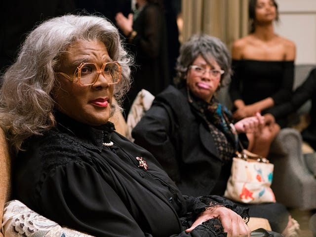 Tyler Perry gives aschlocky, sloppygoodbye to Madea with aFamily Funeral