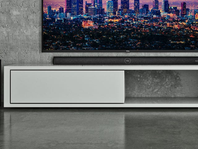 This Roku Sound Bar Is Part Smart Speaker and Part Remote Control