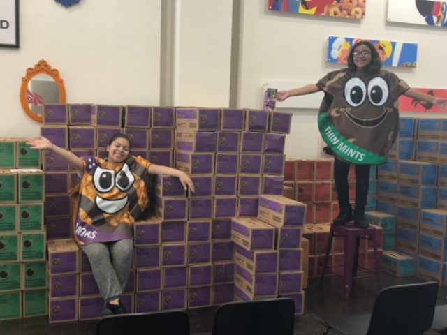New York City's Homeless Girl Scout Troop Just Pulled off an Epic Cookie Sale