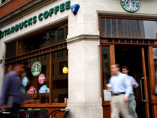 Laita jäljellä oleva valuutta Starbucks-lahjakortille