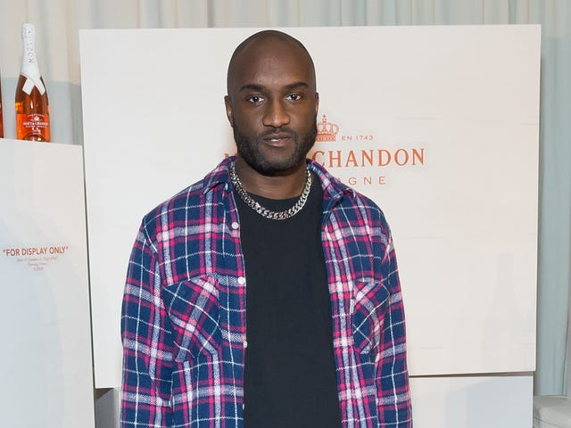 Pass the Bubbly! Virgil Abloh Puts His Stamp on Yet Another Iconic Brand