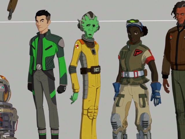 Meet the Oddball Heroes of Star Wars Resistance