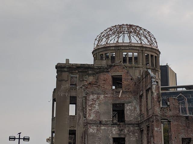 Abóbada da bomba atômica. Hiroshima, Japão