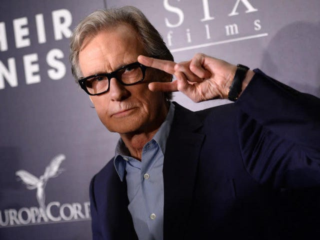 We are pleased to inform you that Bill Nighy is a full-on Pokémaniac