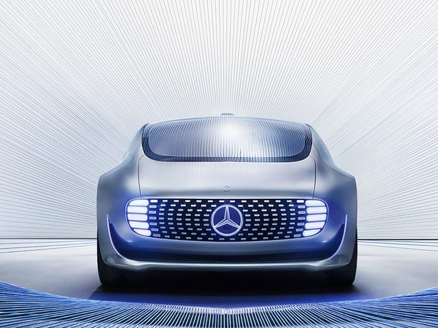 Now Mercedes Says Its Driverless Cars Won't Run Over Pedestrians, That Would Be Illegal