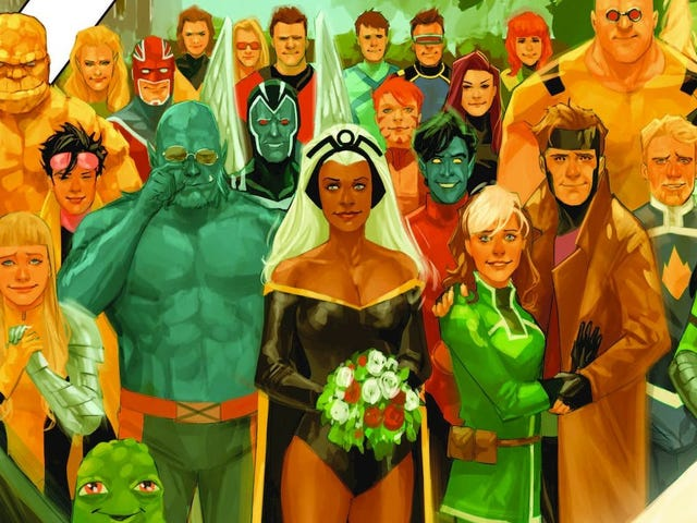 X-Men Gold's Big Wedding Surprise Is Going to Be Appropriately Messy and Dramatic