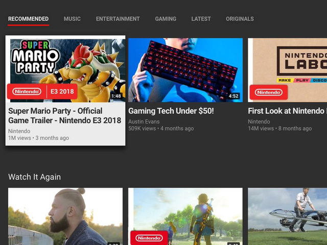 YouTube jest teraz dostępny na konsoli Nintendo Switch, dzięki czemu łączna liczba aplikacji konsoli może się zwiększyć do dwóch