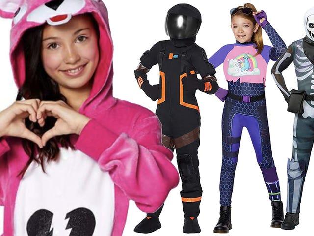 Des enfants excités déconcertent les adultes avec leur ferveur <i>Fortnite</i> Halloween