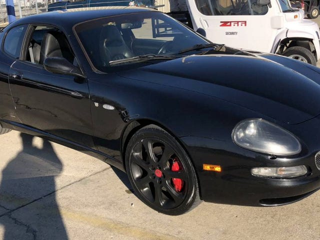 At $12,900, Would You Just Tape Over The Odometer On This 2004 Maserati Coupe GT?