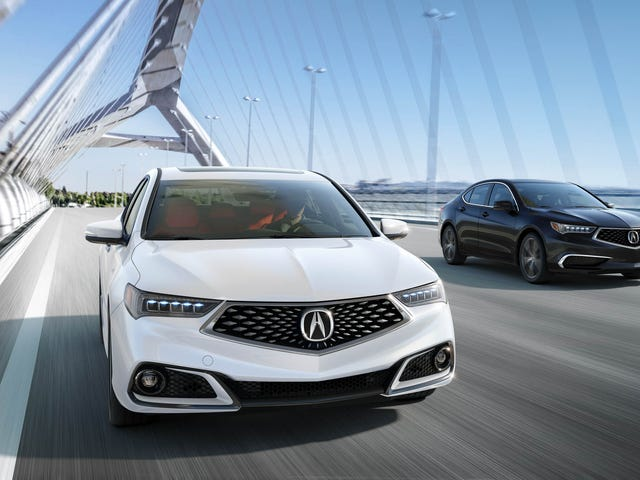 Acura Reveals 2018 TLX and it's More of the Same
