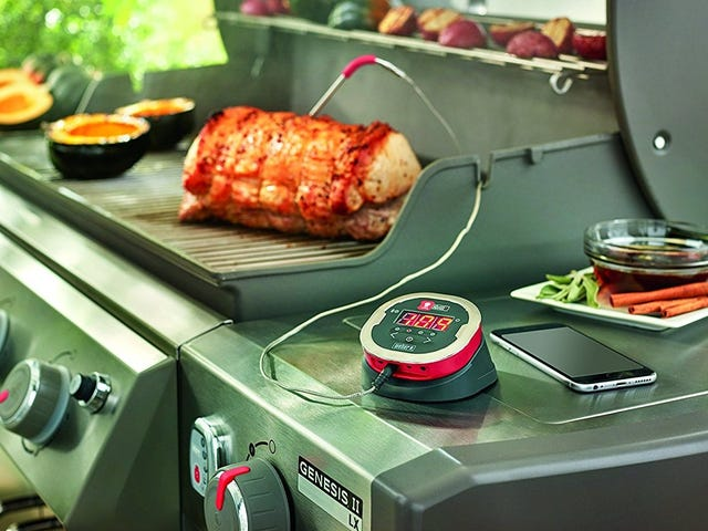 Monitor Meat From Your Phone With a Deal On Weber's iGrill 2