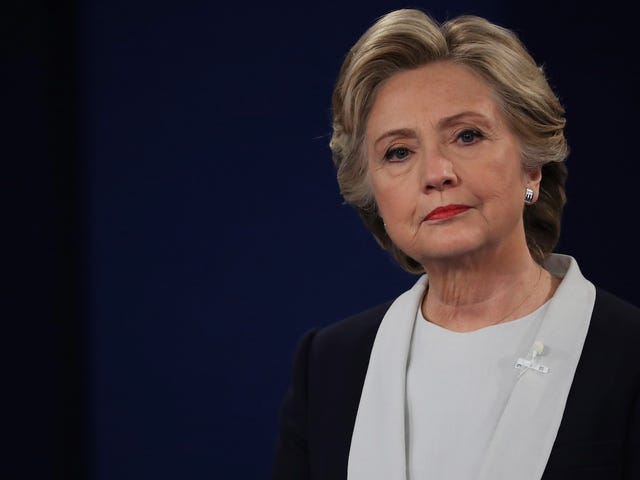 Hillary Clinton's Writing a Book to Tell Us How It All Went Wrong