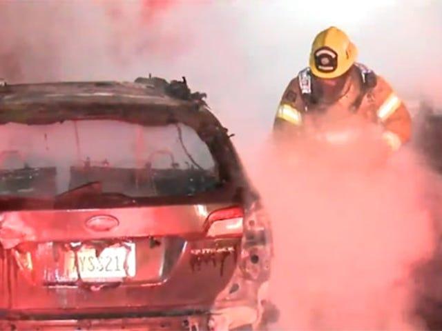 의심되는 코스프레 스토커는 애니메이션 콘서트 기간 동안 7 대의 자동차를 파괴합니다 [업데이트]