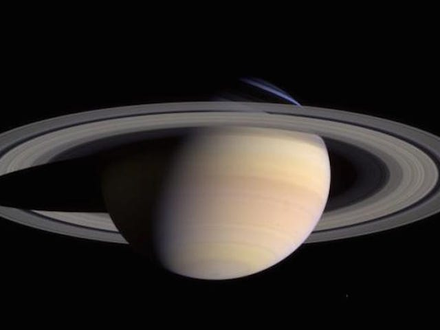 Er du ikke interessert i bilder av Saturno?  La NASA nos explica