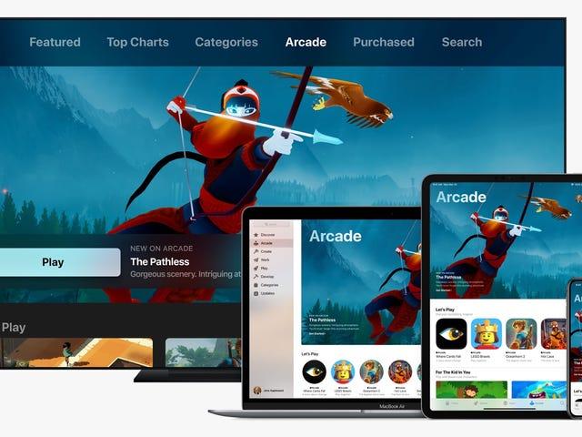 애플은 서브 스크립 션 게임 서비스의 가격을 필터링합니다 : 월 4.99 달러