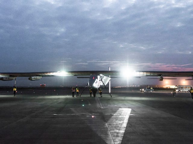 Solar Impulse Safely Lands in East China—But the Hardest Leg's to Come