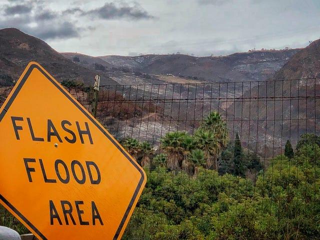 Schlammlawinen sind die jüngste apokalyptische Gefahr in Kalifornien <em></em>