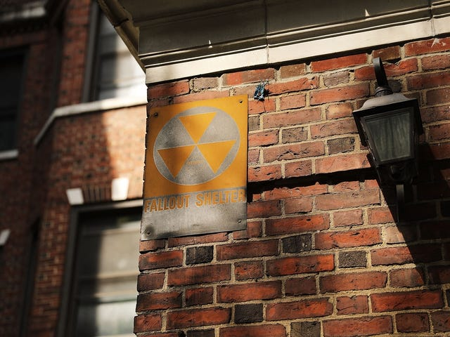 RIP Robert Blakeley, Designer of the Fallout Shelter Sign