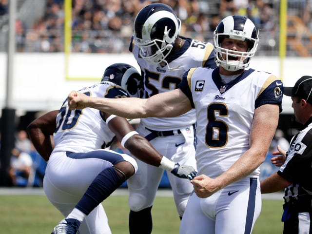 Johnny Hekker Pulled Off A Trick Punt That Only Other Punters Might Notice