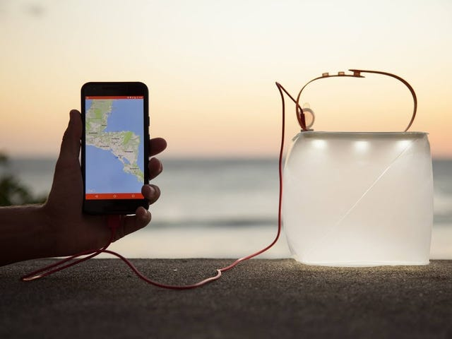 Save $20 On An Inflatable Solar Lantern That Can Also Charge Your Phone