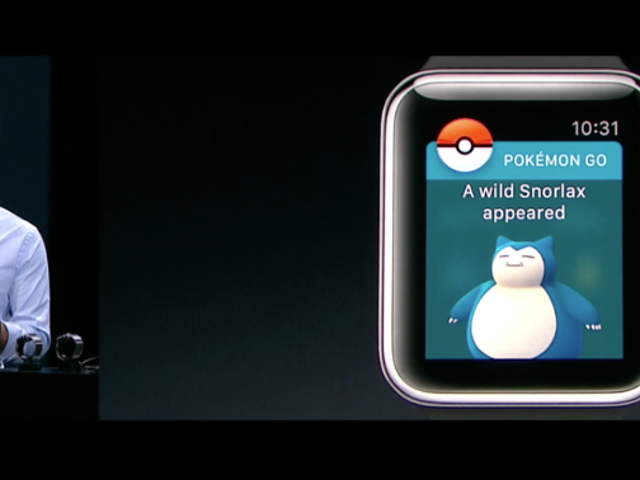 Un <i>Pokémon Go</i> salvaje ha aparecido en Apple Watch