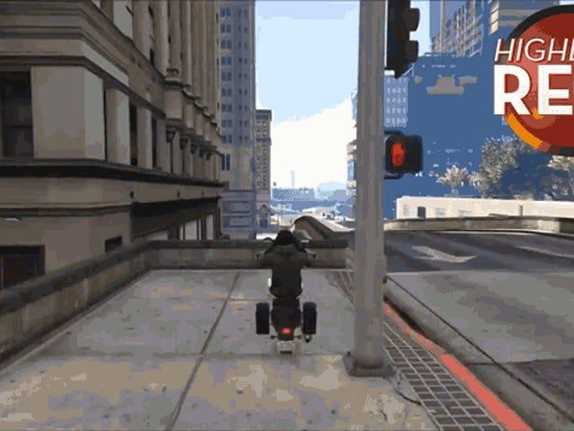 Thủ thuật xe máy <i>GTA</i> mượt mà như lụa
