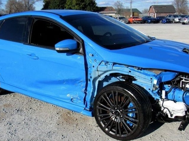 This Is Apparently What Happened To That Ford Focus RS That Drifted Into A Mountain (Update: Same Shit, Different Car)