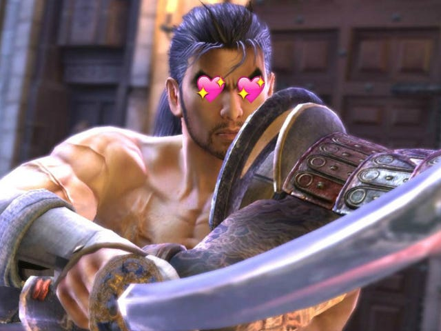 The Men of Soulcalibur and What They're Like on Grindr
