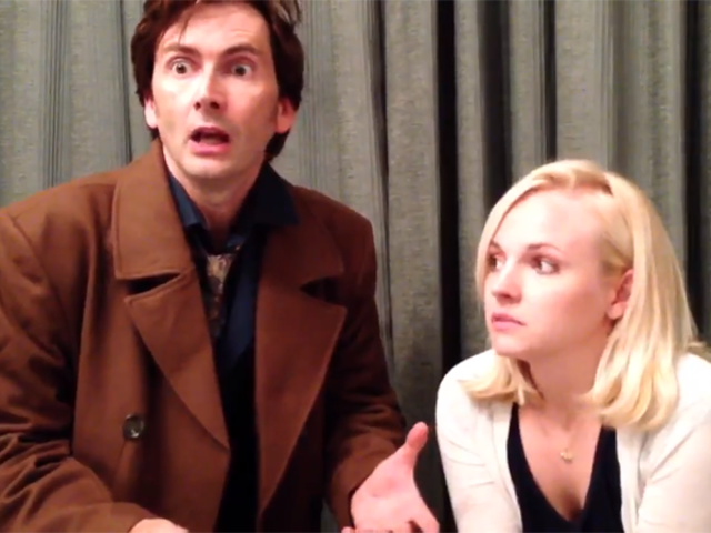 Watch David Tennant Reprise His Role as the Doctor in the Weirdest Way Possible