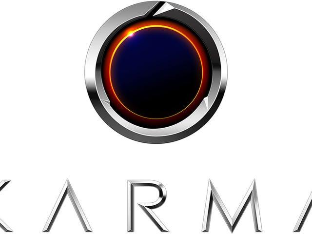 The Karma Revero Has One Of The Worst Logos Ever Designed