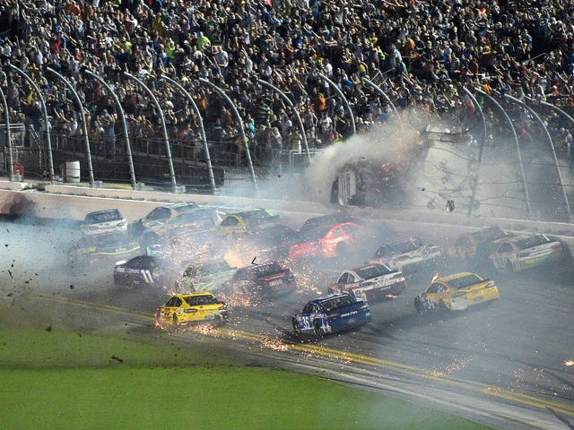 Why Do Superspeedways Still Have Lower Trackside Seating In The Year 2018?