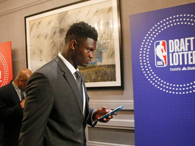 The NBA Would've Been Better Off Rigging The Draft Lottery