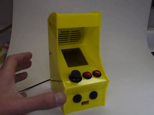 Kuinka et voi rakastaa tätä Adorable Little Arcade Machine?