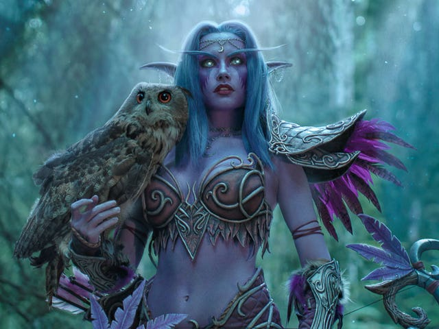 The Best World Of Warcraft Cosplay Has Real Owls