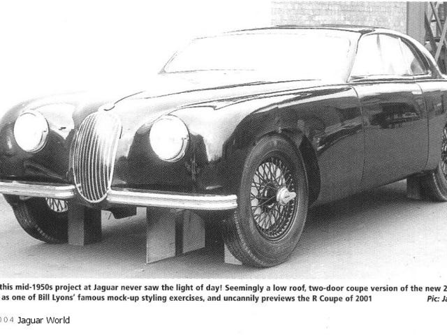 The Jaguar MK1 Coupe That Never Was