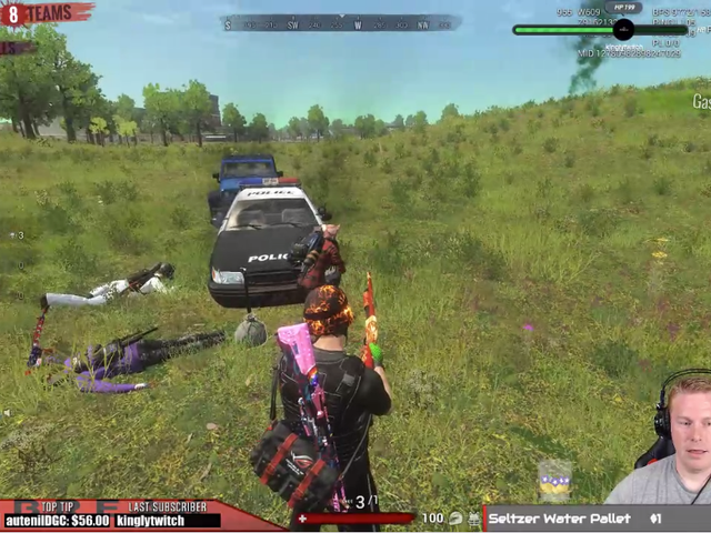 <i>H1Z1</i> Dev Leaves Cheats On While Streaming In Apparent Accident