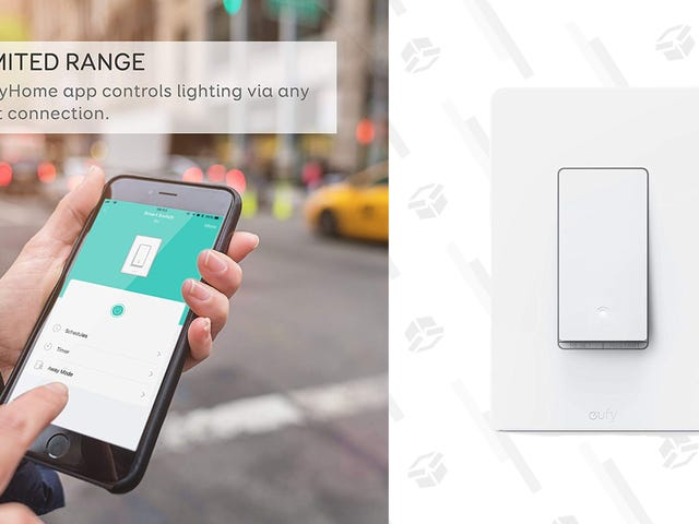 Add Smartphone and Voice Control To a Light Switch For $17