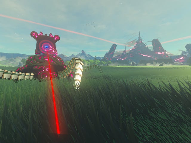 <i>Breath Of The Wild</i> First-Person Mod Kicks All Kinds Of Ass