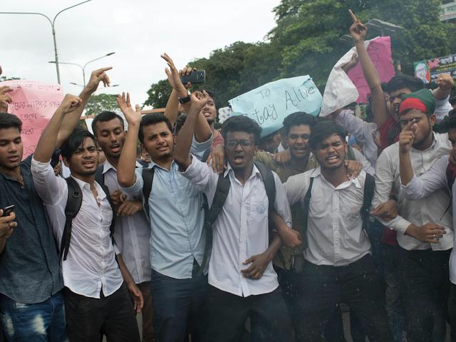 Bangladesh Blocks Mobile Internet Amid Police Crackdown on Student Protests