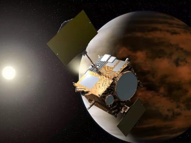 La sonda japonesa Akatsuki належить до списку учасників Venus después de cinco años perdida