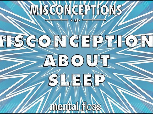 Koyun Sayımı Aslında Çalışmıyor ve Uyku ile İlgili Diğer Yanılgıları