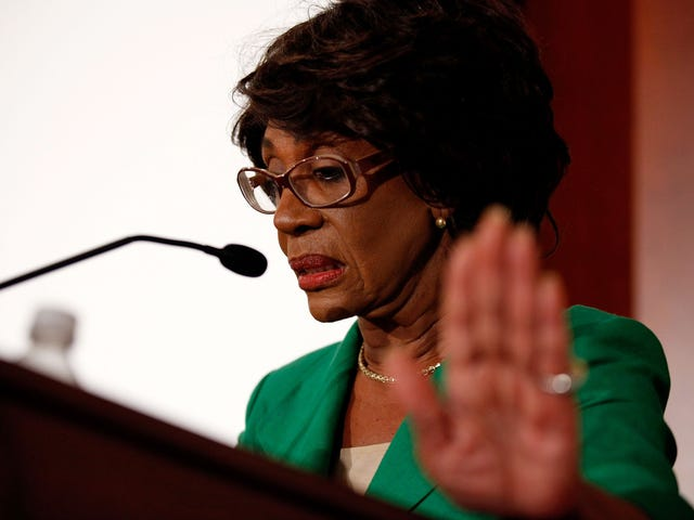 Auntie Maxine Waters Is Not Afraid of Trump; Too Bad She's Seemingly Alone in Her Fight