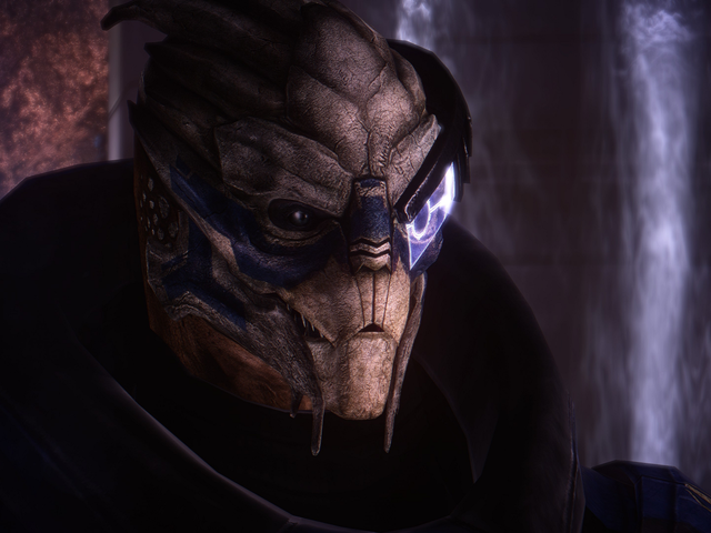 <i>Mass Effect</i> Graphics Mod Membuat Timbangan Garrus Lebih Detail