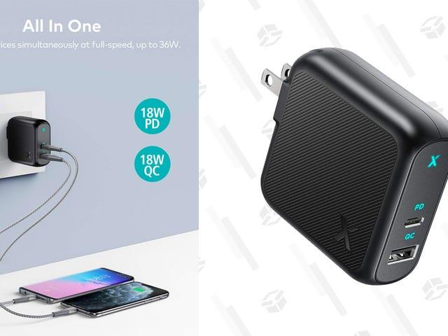 Naładuj swój nowy (lub stary) sprzęt za pomocą ładowarki z dwoma portami za 14 USD [Exclusive]