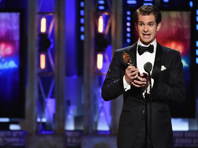Andrew Garfield Dedicated His Tony Win to 'LGBTQ People Who've Fought & Died for the Right to Live'