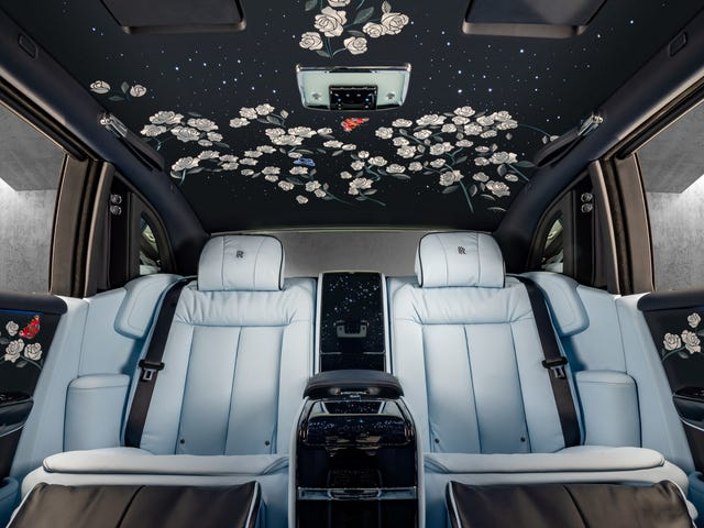 OK, This Million-Stitch Rolls-Royce Embroidered Interior Is Legitimately Beautiful