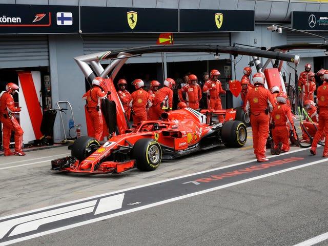 Ferrari ha ucciso il Gran Premio d'Italia di Kimi Raikkonen