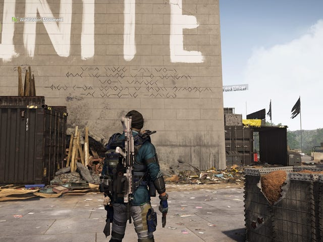 The Division 2's Wild Puzzles Stump Players, But One Of Them Turns Out To Be Bugged